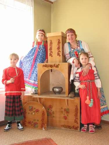 Печь русская для детского сада